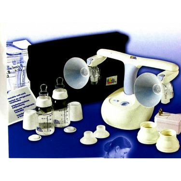 Natural Comfort Double Electric or Battery Breast Pump