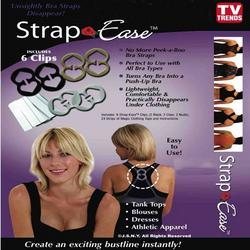 TV Trends Strap Ease Bra Clips Set of Six