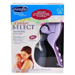 Evenflo Comfort Select Manual Breast Pump