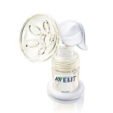Avent Isis Manual Breast Pump w/4 oz BPA-free Bottle