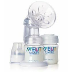 Avent America Breast Pump - Comfort Breast Shell Set - Qty of 6 - Model 211