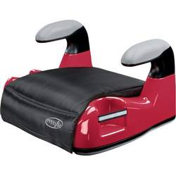 Evenflo Big Kid AMP No Back Booster Car Seat, Red
