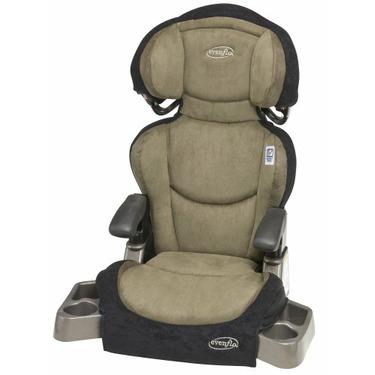 Evenflo Big Kid DLX Booster Car Seat, Cactus