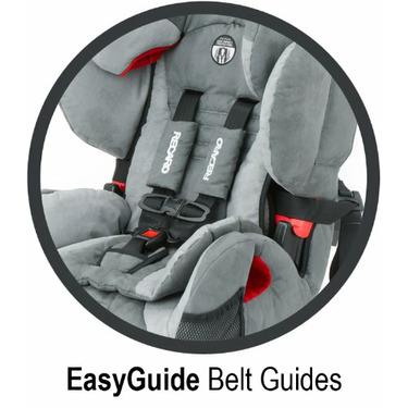 RECARO ProSPORT Combination Harness To Booster Car Seat, Midnight
