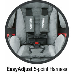 RECARO ProSPORT Combination Harness To Booster Car Seat, Midnight