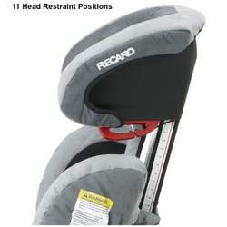 Recaro ProBooster High Back Booster Car Seat, Midnight