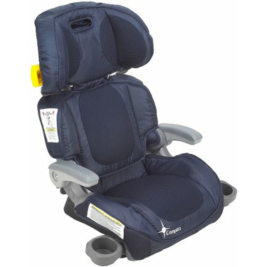 The First Years Compass Adjustable Folding Booster, True Blue