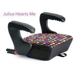 Clek Paul Frank Special Edition Olli Booster Car Seat - Julius Hearts Me