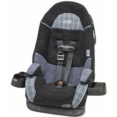 Evenflo Chase DLX Booster Car Seat with EPS - Jamestown II