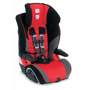Britax Frontier Booster Car Seat, Red Rock