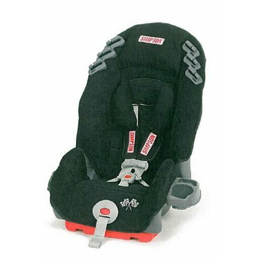 Simpson Racing | 92000 | Simpson Racing Child Safety Seat, 5-point Harness,