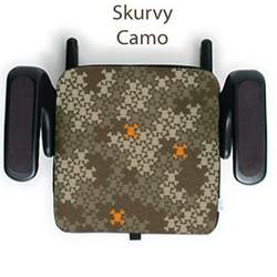 clekjacket Booster Seat Cover - Paul Frank Edition - Skurvy Camo