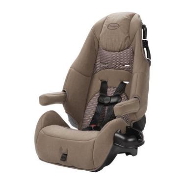 Cosco Deluxe High Back Booster Car Seat, Dark Tan