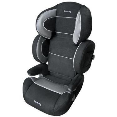 Harmony Baby Armor Adjustable Booster Car Seat, Black Tech