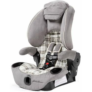 Eddie Bauer Adjustable High Back Booster Car Seat