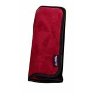 Diggity Kids 11781276 DIGGITY KIDS SEATBELT COVER- MICROSUEDE CHERRY
