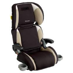 The First Years Compass Ultra Folding Booster Car Seat - Cappuccino