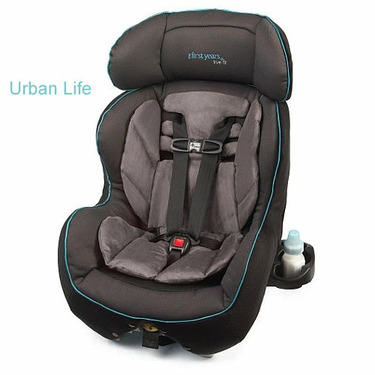 The First Years True Fit Recline Convertible Car Seat, Urban Life