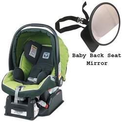 Peg Perego Primo Viaggio SIP 30 30 Car Seat Kiwi with Easyview Ultimate Back Seat Mirror