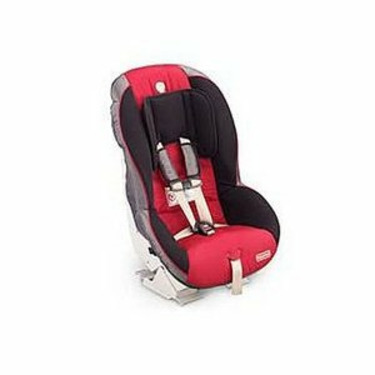 Fisher-Price Safe Voyage Convertible Car Seat in Black/ Red