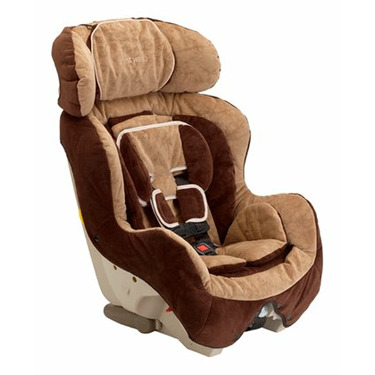 The First Years True Fit Convertible Car Seat - Chocolate