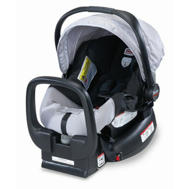 Britax Chaperone Infant Carrier, Black/Silver
