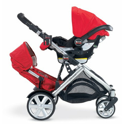 Britax Chaperone Infant Carrier, Red