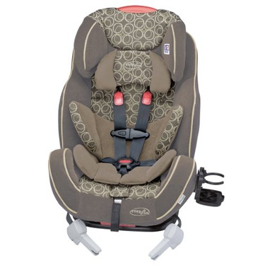 Evenflo Symphony 65 All In One Car Seat, Circles