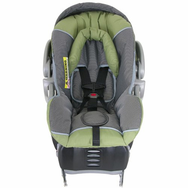 Baby Trend Columbia Infant Car Seat - Green/ Gray