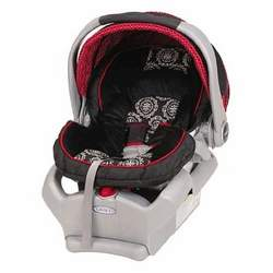 Graco Snugride 35 Infant Car Seat in Edgemont-red & Black