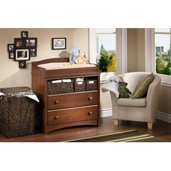 South Shore Furniture, Sweet Morning Collection, Changing Table, Royal Cherry