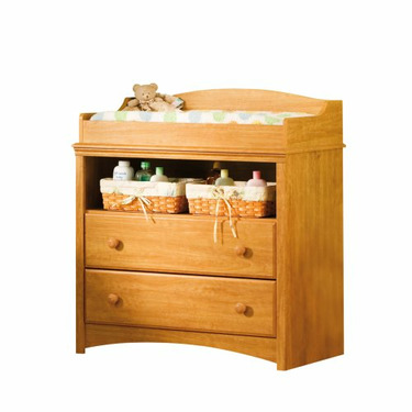 South Shore Furniture, Sweet Morning Collection, Changing Table, Florence Maple