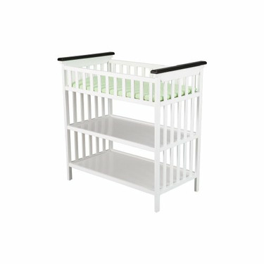 Delta Saint Martin Changing Table, Two Toned Espresso and White