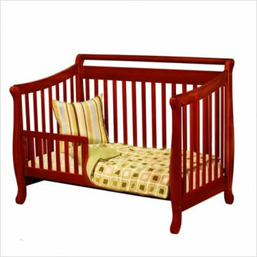 Athena Nadia Changing Table in Cherry