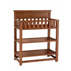 Bassettbaby River Ridge Changing Table - Cherry