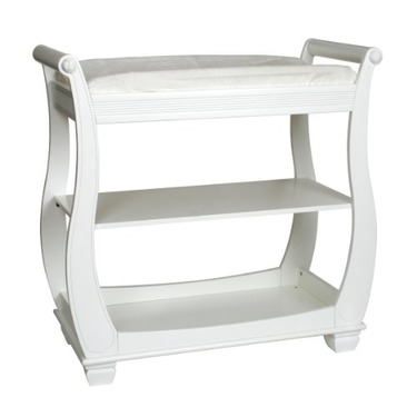 Carters Classic Collection Changing Table, White