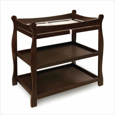 Badger Basket Baby Changing Table in Espresso