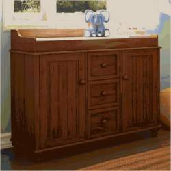 South Shore Furniture, Lullaby Collection, Changing Table, Sumptous Cherry