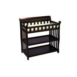 Delta Children's Products Eclipse Changing Table - Black Cherry