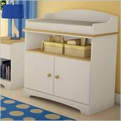 South Shore Furniture Summer Time Collection Changing Table, Maple/White