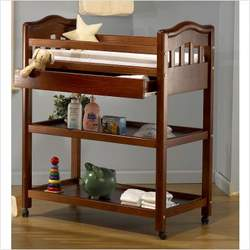 Nicki Pine Changing Table Finish: Espresso