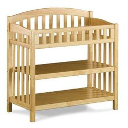 Atlantic Furniture Richmond Knock Down Changing Table, Natural Maple