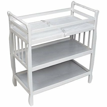 European Dressing Table In White By Delta