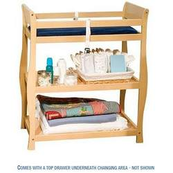 Haven Baby Changing Table w/ Drawer by Delta - Natural