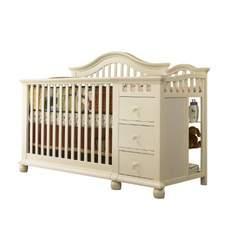 Sorelle Cape Cod Crib N Changer, French White