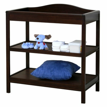 Just One Year ® Changing Table (Chocolate Finish)