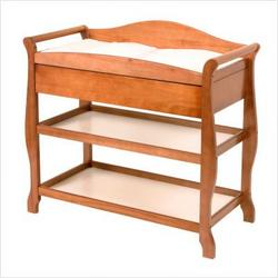 Aspen Changing Table with Drawer in Oak