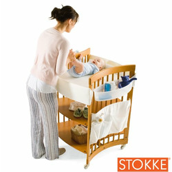 Stokke Care Baby Changing Table in Cherry