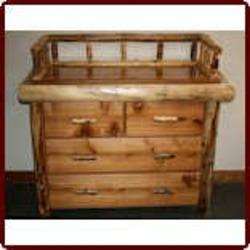 'Vienna' Log Changing Dresser