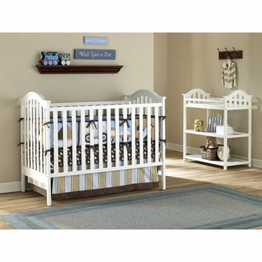 Nursery 101 Concord Dressing Table - White